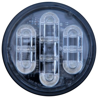 LED BLITZ RUND.  24V.  Art.nr 0540.